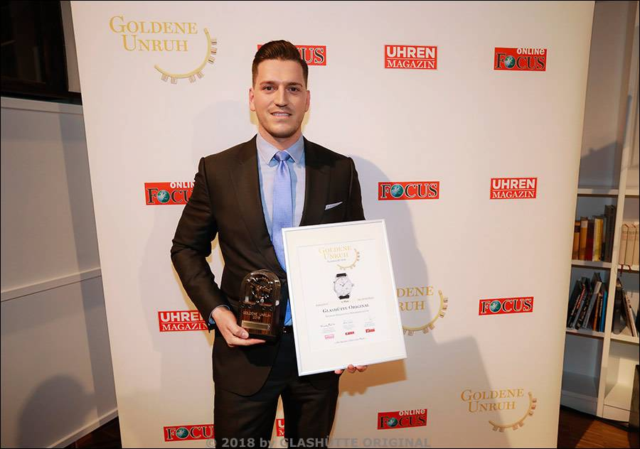 Verleihung der Goldenen Unruh 2018