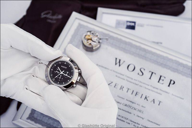 """Lehrabschluss: """"WOSTEP""""- Diplom (Watchmakers of Switzerland Training and Educational Program)"""