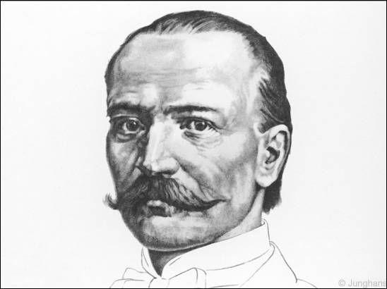 Firmengründer Erhard Junghans (1861)