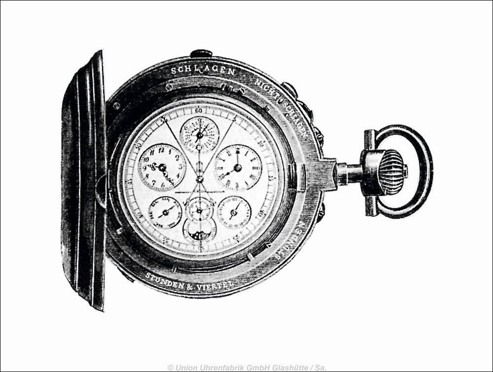 Union Glashütte - Universaluhr