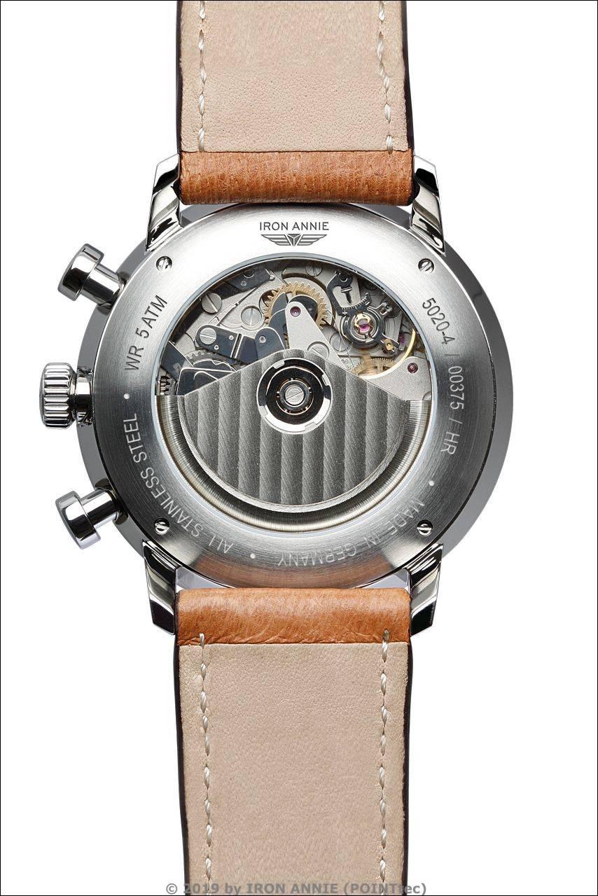 IRON ANNIE Bauhaus Chronometer Chronograph, Sternwarte Glashütte
