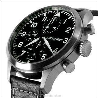 Archimede - Pilot Chronograph