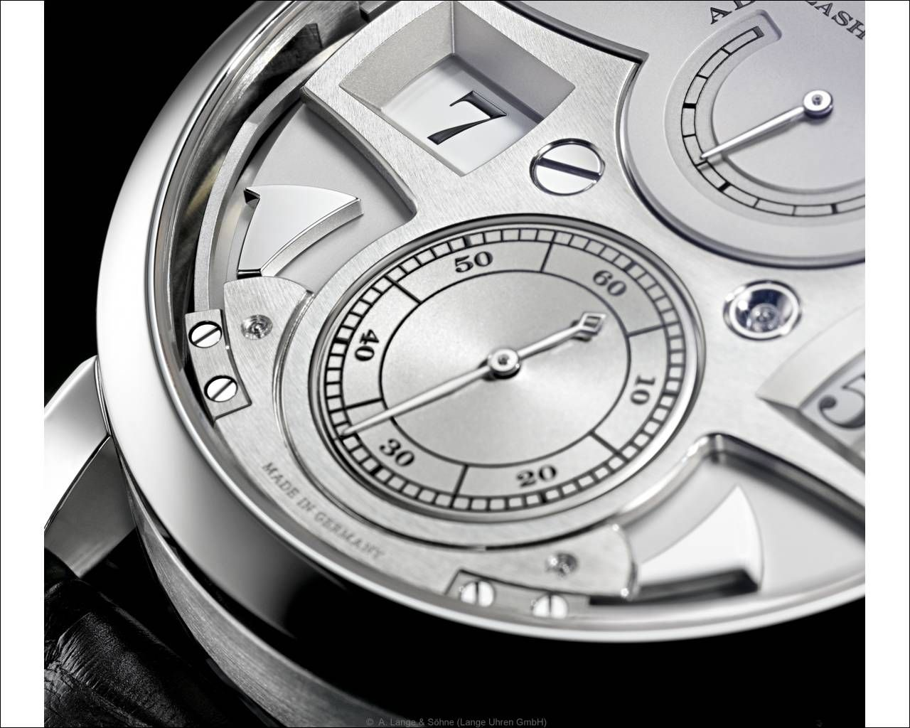 A. Lange & Söhne> Zeitwerk Striking Time >Ref. 145.025