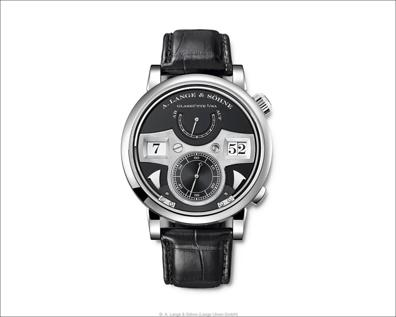A. Lange & Söhne> Zeitwerk Striking Time >Ref. 145.029