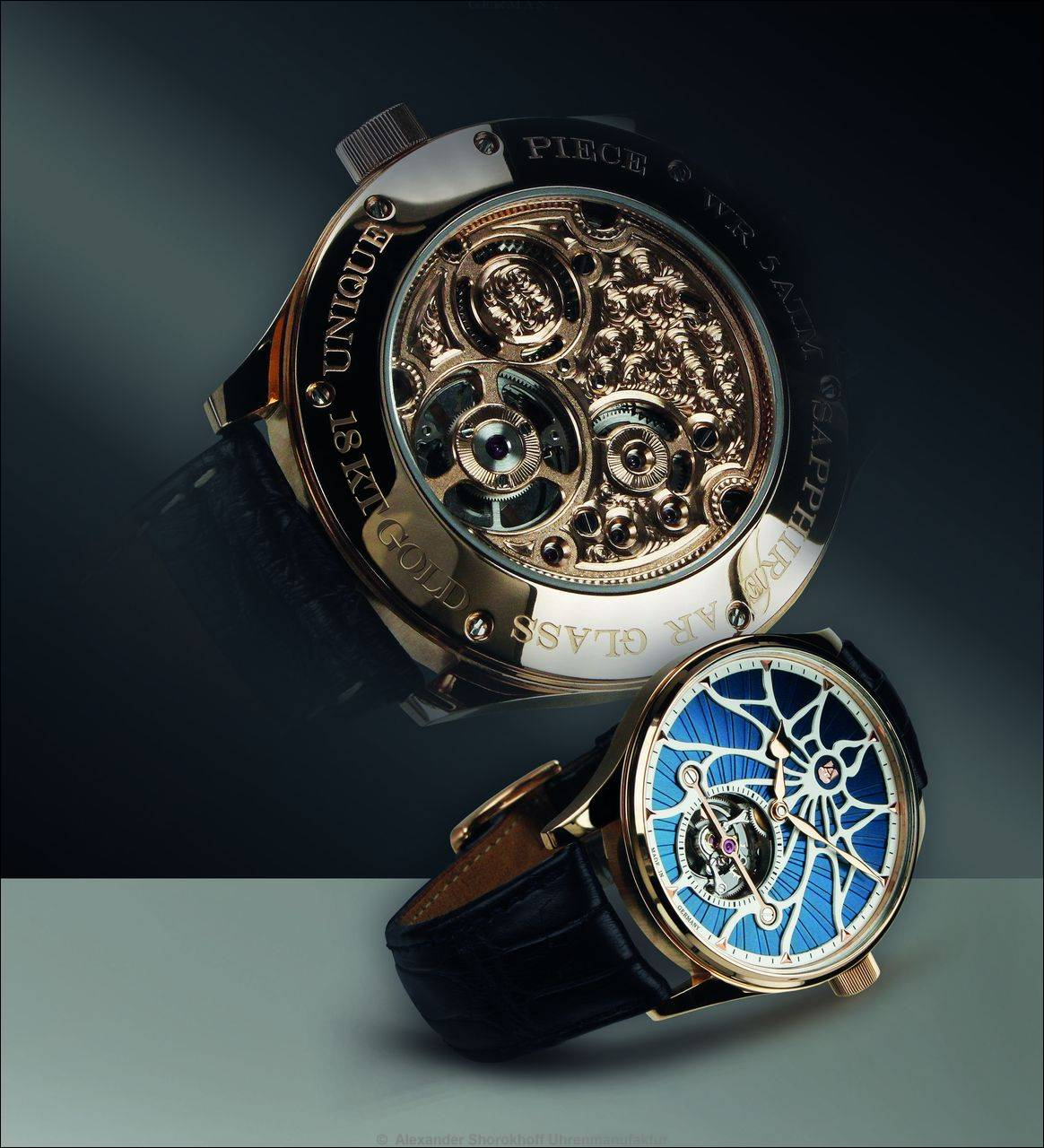 "Alexander Shorokhoff Uhrenmanufaktur > TOURBILLON ""TOMORROW"""