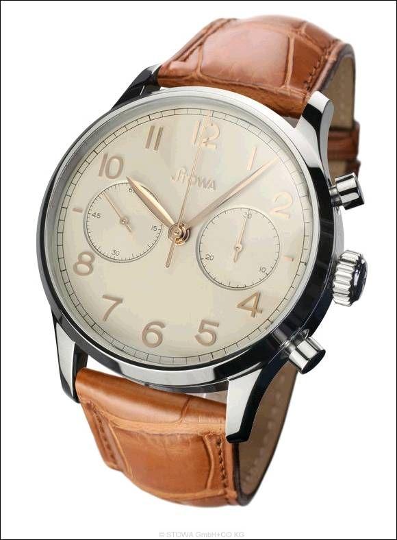 Chronograph 1938 poliert