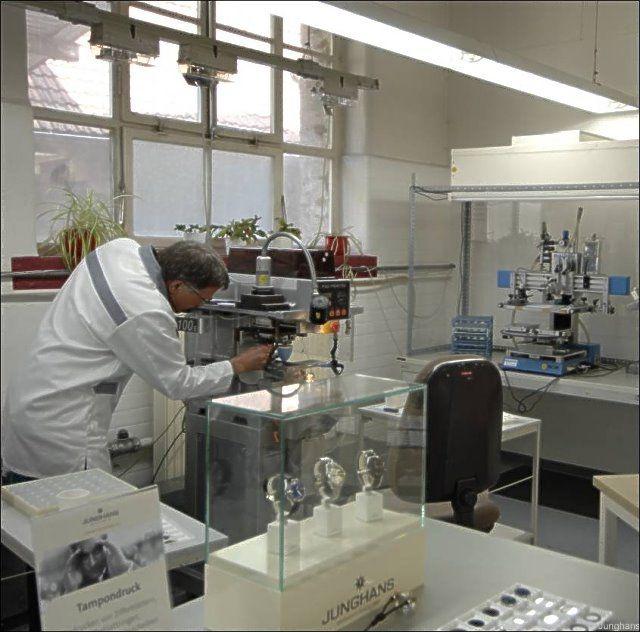 Produktionsstätte der Junghans Uhren