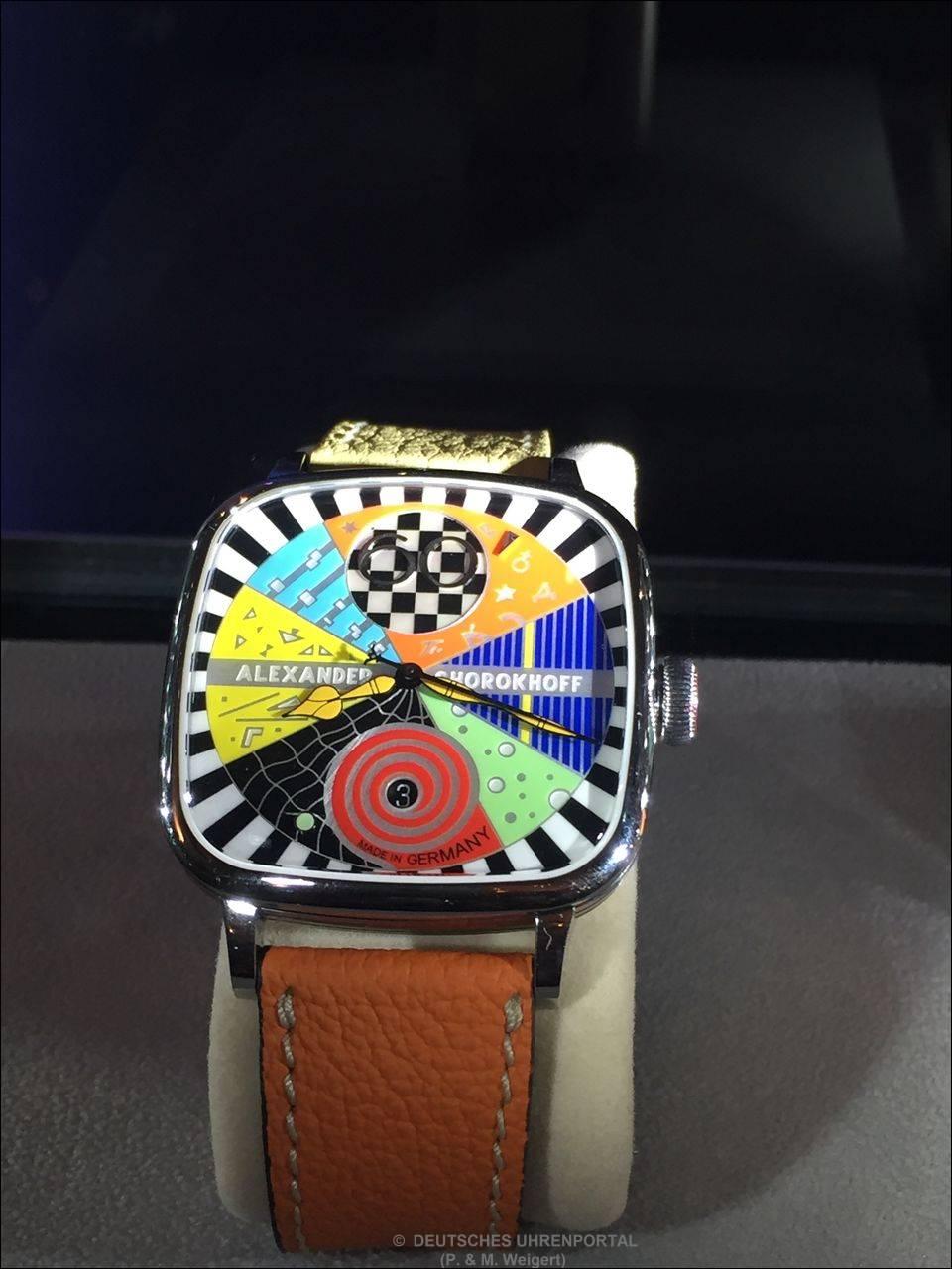 Alexander Shorokhoff Uhrenmanufaktur präsentiert das Modell Kandy Avantgarde