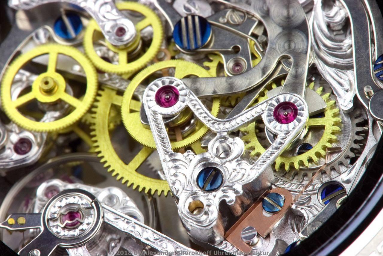 Alexander Shorokhoff Uhrenmanufaktur & Montredo: Projekt Initialuhr