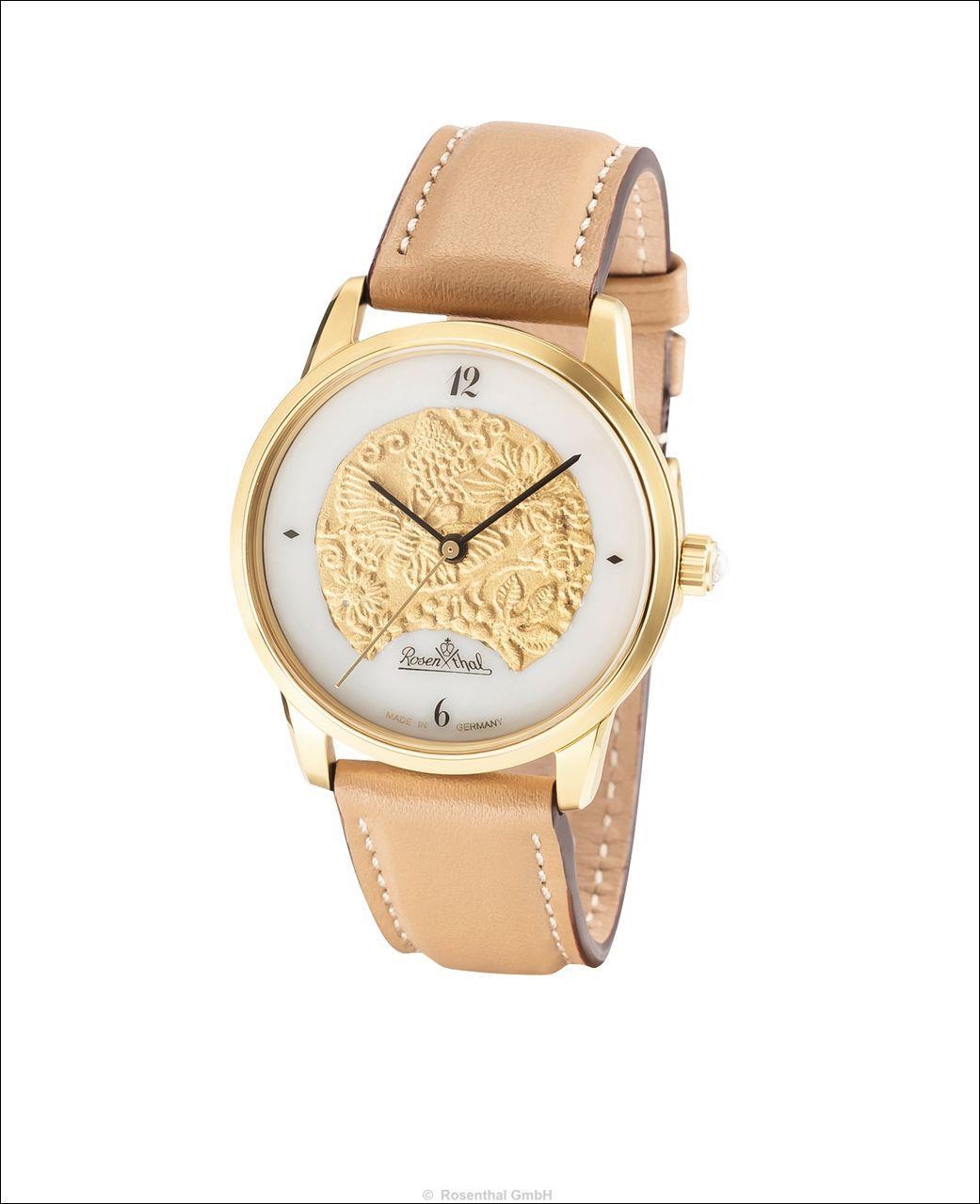 Stylische Armbanduhren von Rosenthal: Magic Garden