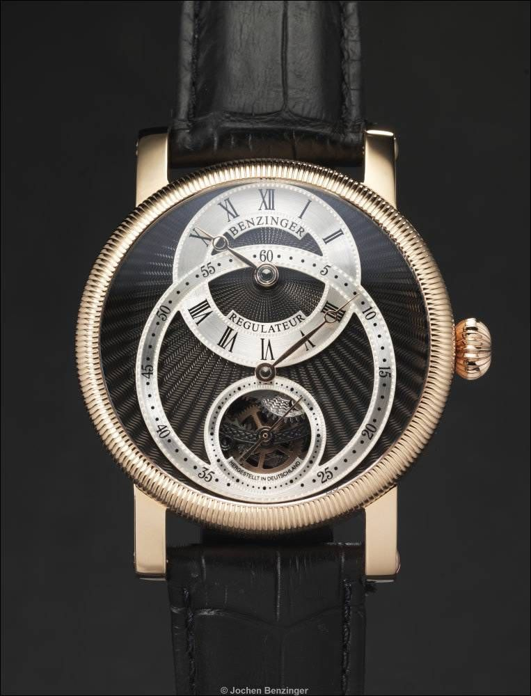 "BENZINGER ""Regulateur in Roségold"""