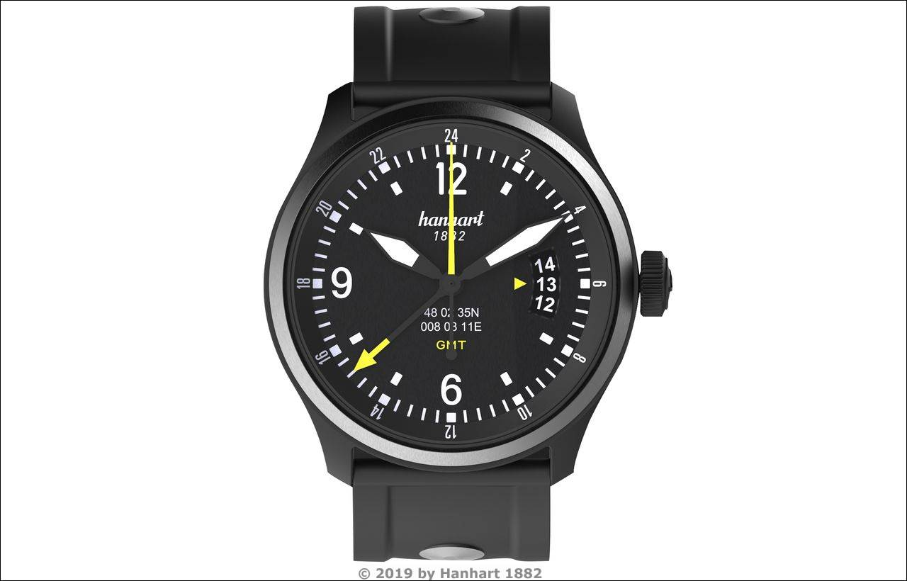 Hanhart S-Serie: SK-60-GMT