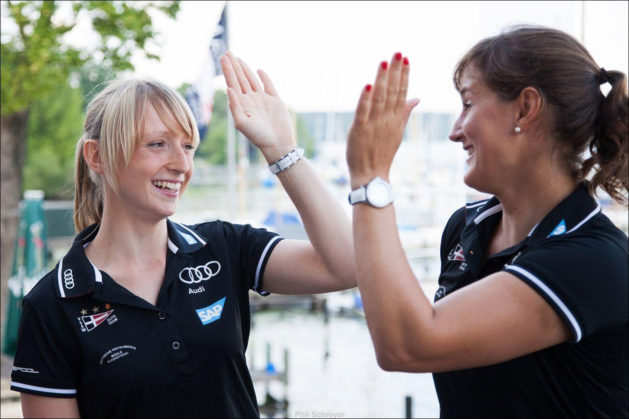 Annika Bochmann und Marlene Steinherr startbereit für Olympia 2016 (Bildrechte Phil Schreyer)
