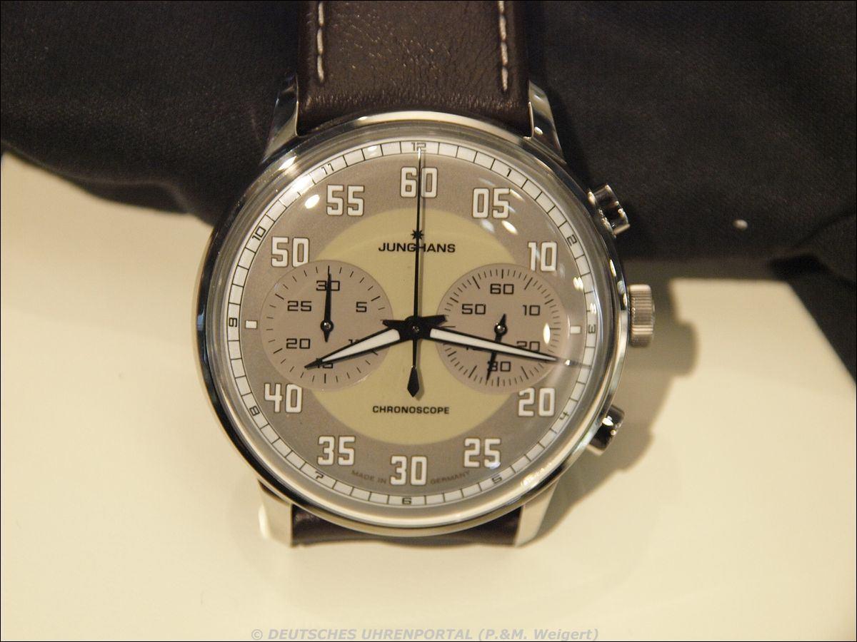 Junghans Uhrenfabrik > Meister Driver Chronoscope