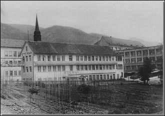 Das erste Eterna-ETA-Gebäude