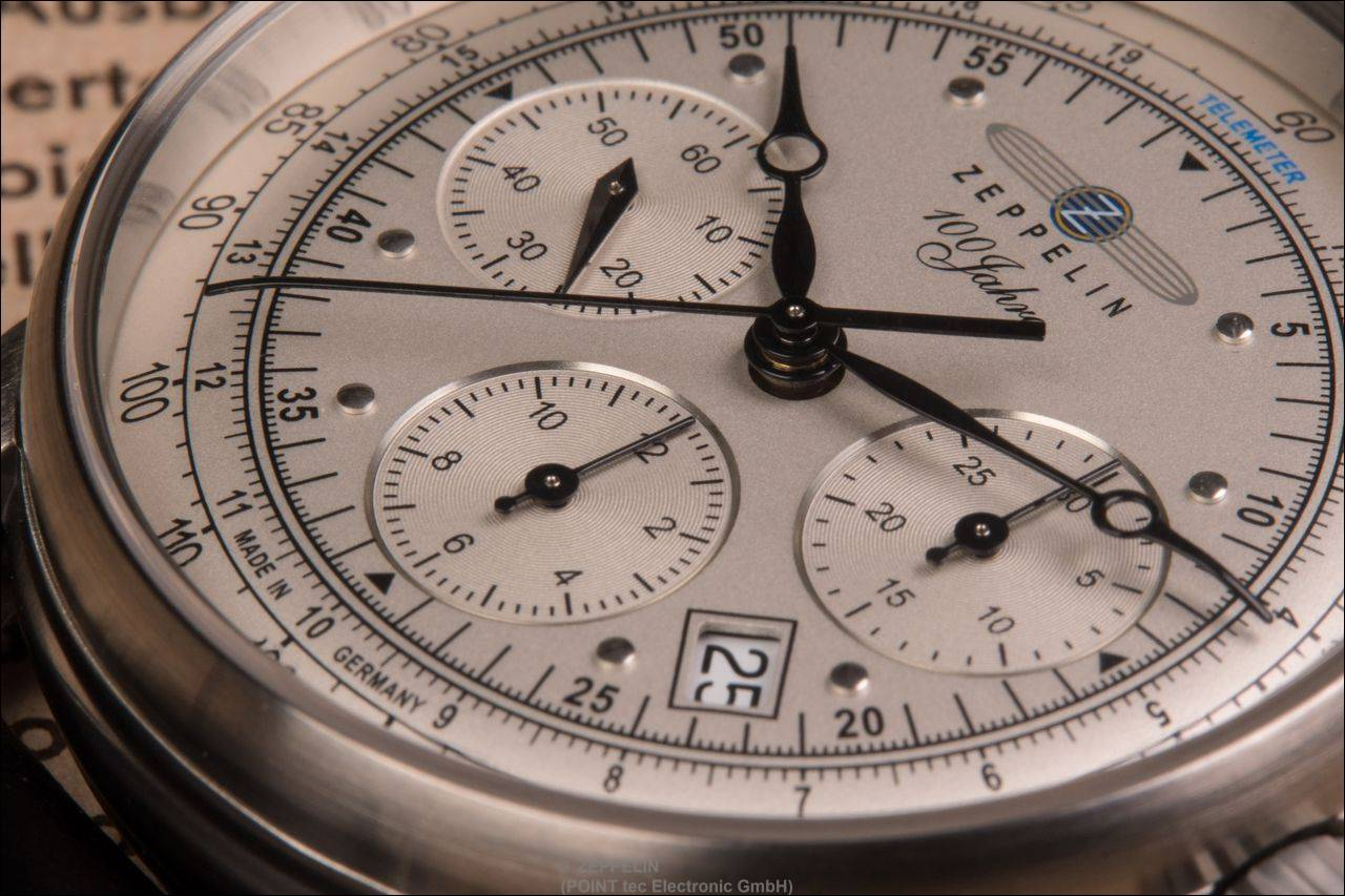Zeppelin > 7620-1 > 100 Jahre Zeppelin Chronometer Sternwarte Glashütte
